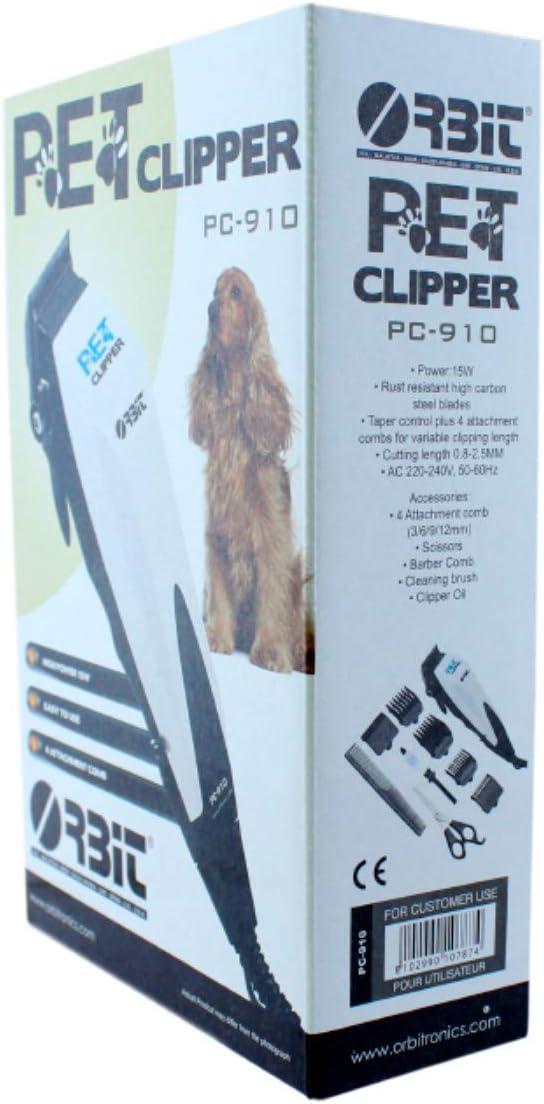JPWOnline - Cortapelos electrico para mascotas Orbit PC-910 ...