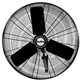 Best Air King Oscillating Fans - Air King 9025 24-Inch Industrial Grade Oscillating Wall Review