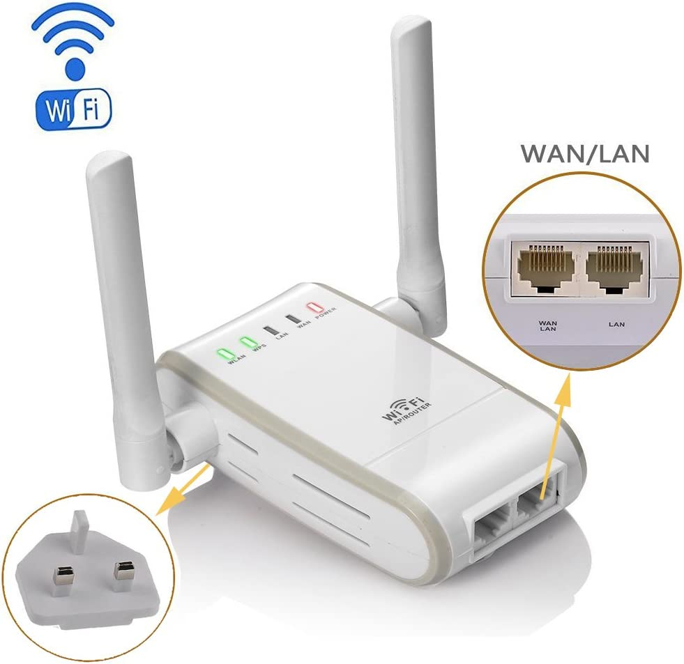 N 300Mbps Wi Fi RepeaterRouter