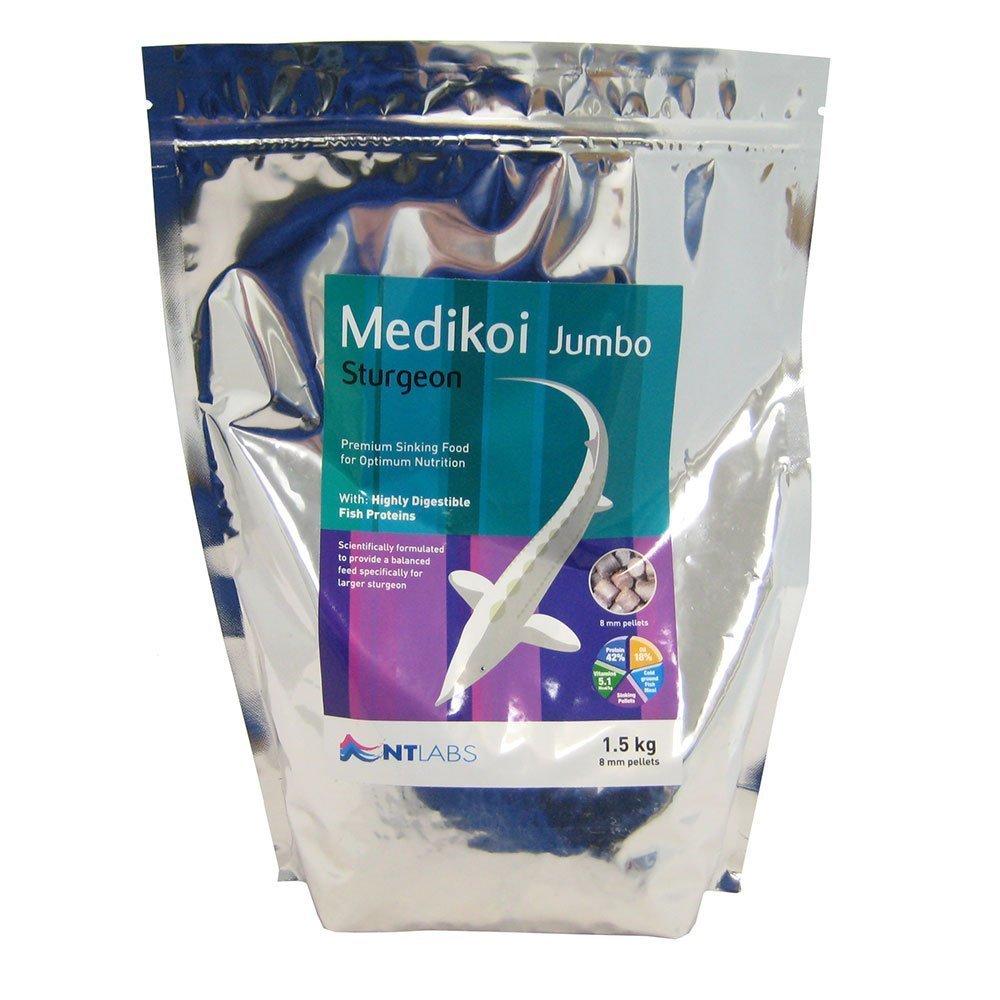 NT Labs Medikoi Sturgeon Jumbo (8mm Pellet) 1.5kg 1500g
