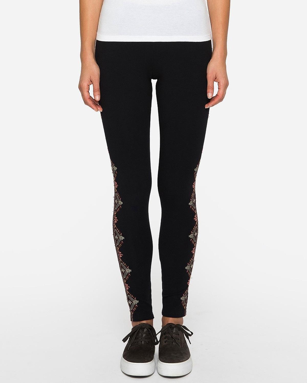 JWLA by Johnny Was Women's Aspen Legging, Black, XL