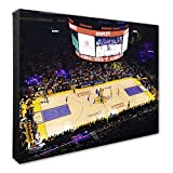 NBA Los Angeles Lakers Staples Center Basketball Arena Canvas Artwork, 16' x 20'