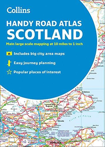 2019 Collins Handy Road Atlas Scotland (Road Scotland Map)