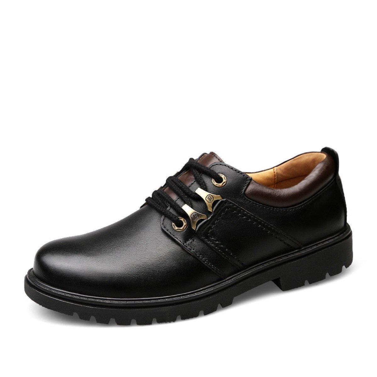 Herbst Und Winter Männer Business Freizeitschuhe Männer Weiche Ende Schuhe Tragen England Spitze Herrenschuhe