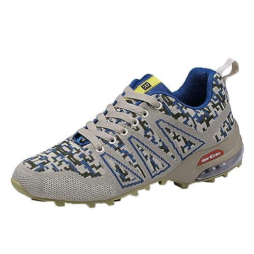 Zapatos Hombre Deportivas Hombre Ofertas Zapatillas De Alpinismo para Exteriores para Hombre Zapatillas Antideslizantes De Malla