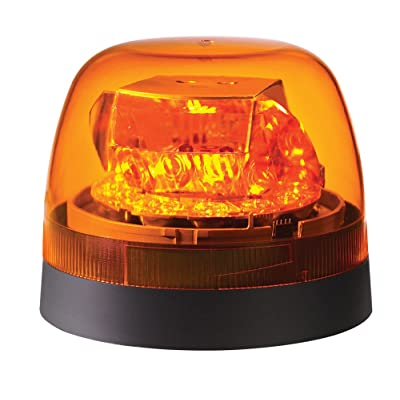 Federal Signal 262650-02 Amber Dome Class 1 SLR LED Beacon (Permanent/Pipe Mount): Automotive