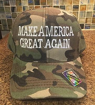 DONALD TRUMP - MAKE AMERICA GREAT AGAIN - CAMO Hat / Ball Cap