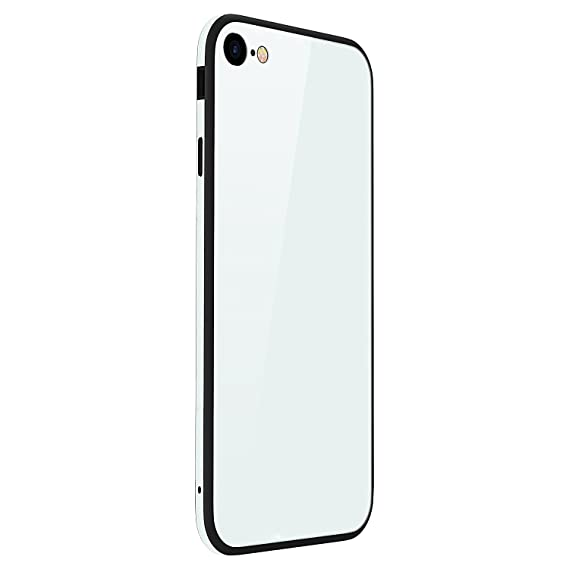c6c47e0a1b1 iPhone 6 Tempered Glass Case, TIPFLY iPhone 6s Luxury Tempered Glass Back  Cover with Soft
