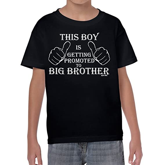 b6d822914 Promoted to Big Brother tshirt-Boys-Kids Funny Sayings Slogans ...