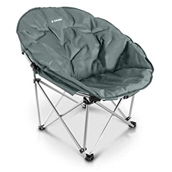 Portátil Con Para Asiento Silla Acampada Libre Plegable Camping El Redonda Xxl En Navaris Bolsa DivColores Aire sQdCrthBx