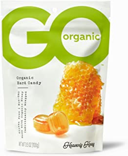product image for GoOrganic Organic Hard Candies, Honey, 3.5 Ounce Bag (Pack of 6)