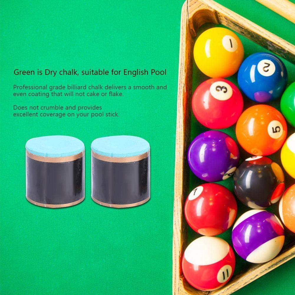 Tiza de Billar Snooker,Tiza de Billar Pool Cue Tiza de Piscina Snooker Chalk Tiza Punta de Cue Accesorio para Snooker Pool(Rojo): Amazon.es: Deportes y aire libre