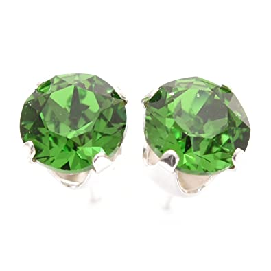 green cz latest high products earrings ad online buy american stud indian diamond jewellery ao beautiful color golden