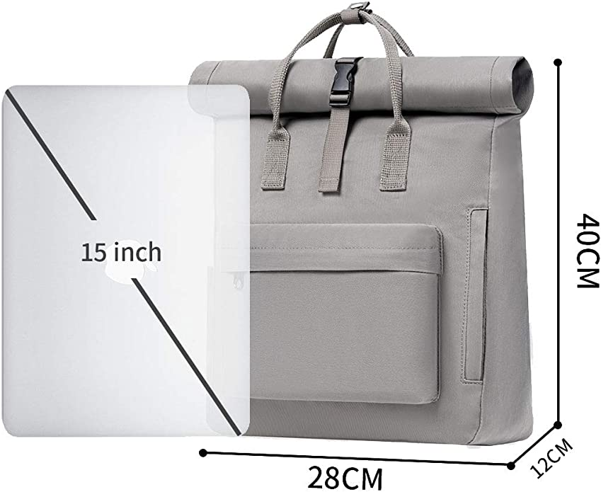 Fancy Forest KALIDI Sac /à Dos Sac Ecole Randonn/ée Voyages Backpack Pour 15 Pouces Ordinateur Portable Tablette Laptop MacBook Loisir