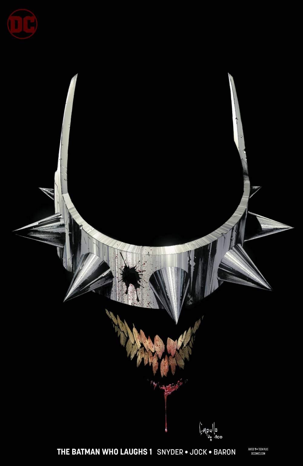OF 6 VARIANT BATMAN WHO LAUGHS #1