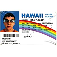 McLovin ID Flag Fake Driver License Flag 3x5 Feet Banner With 4 Brass Buttonholes 3x5 Ft,Used For University Dormitory…