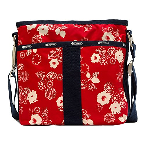 Lesportsac Essential Crossbody (Autunm Floral Red)