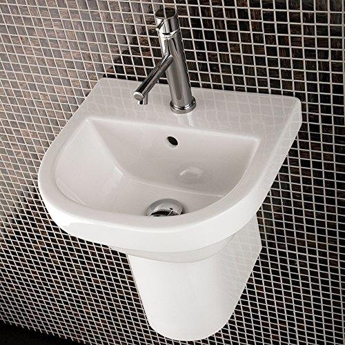 - Wall-mounted porcelain shroud for washbasins #2952, 2962, 4271, 4272, 4281, or 4281, 7