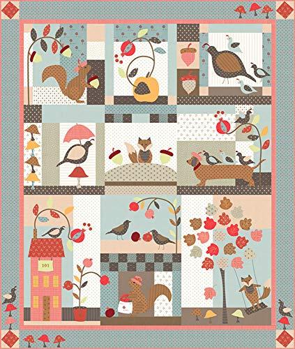 Bunny Hill Designs 101 Maple Street Quilt Kit Moda Fabrics KIT2930 ()