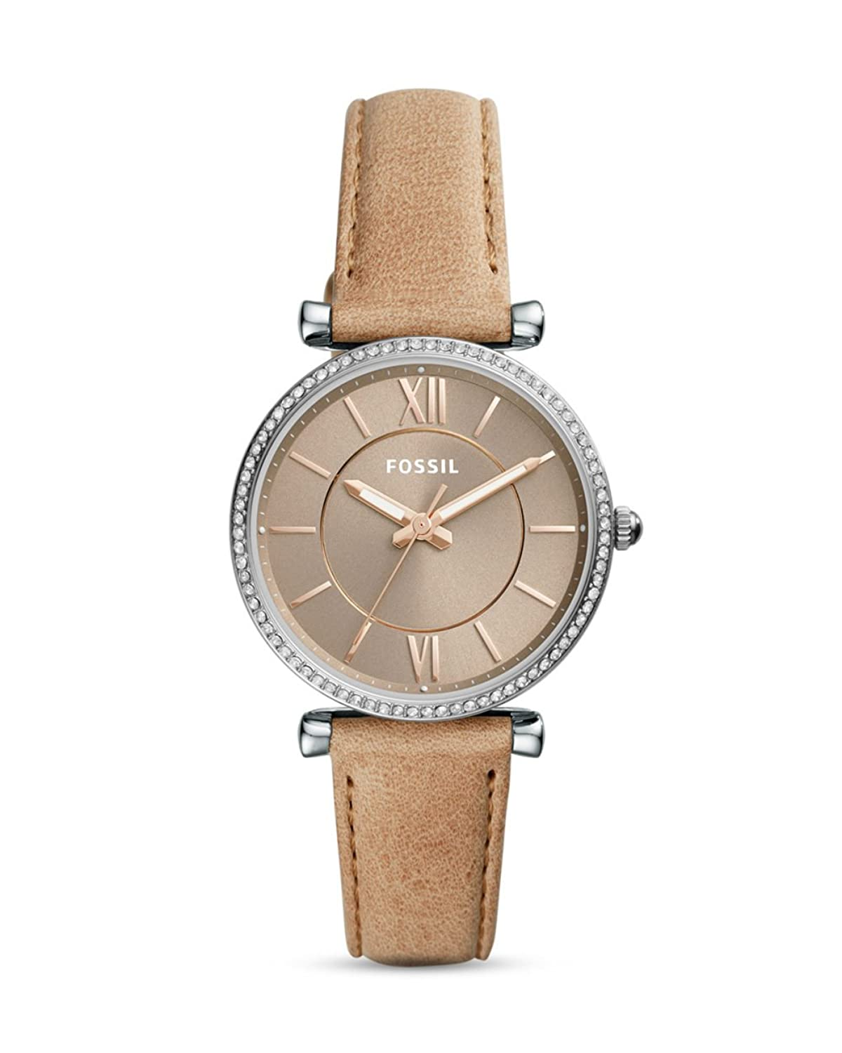 Fossil Womens Carlie Leather Strap ES4343 -