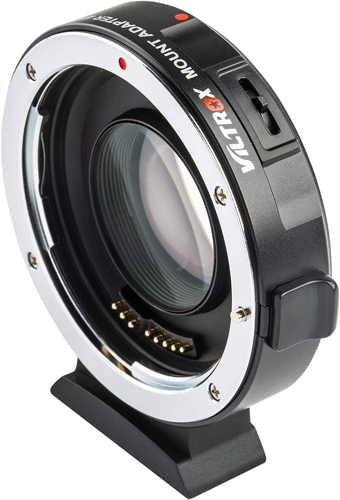 VILTROX Convertidor del Adaptador de Lente Auto Focus para Canon EF//EF-S Lente para Canon EOS M EF-M M2 M3 M10 M6 M5 Soporte Exposici/ón autom/ática//Apertura autom/ática