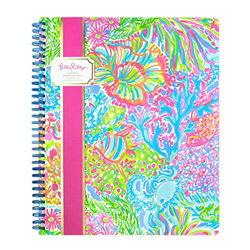Lilly Pulitzer Large Notebook - Lovers Coral