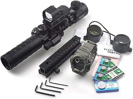 Sporting Outdoor Optics 3-9x40 Airsoft Riflescope Rifle Scope Sighting Mount New