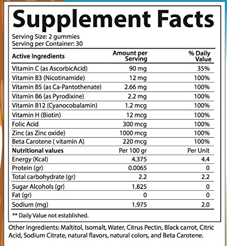 Dr.Colbert's Sugar Free Multivitamin for Kids Gummy (Tropical Fruit Flavor)