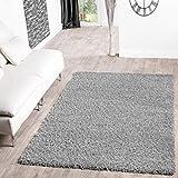 Shaggy–Alfombra para salón, diferentes precios, varios colores, gris, 60 x 100 cm