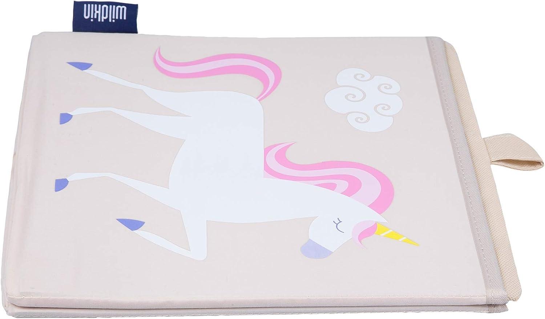 /Unicorno WILDKIN W640803/Bambini Storage Cube/ Beige