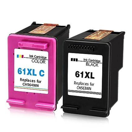 Cartucho de tinta remanufacturado reemplazo para HP 61 X L ...