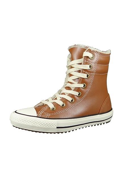 1c4105c600c08 Converse Chucks Kids Winter Boots CT AS Hi Rise Boot Brown Antique Sepia  Parchment Egret