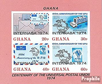 Prophila Collection Ghana Michel.-No..: Block56B (Completa.edición ...