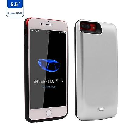 Amazon.com: 7500 mAh funda de batería para iPhone 8 plus ...