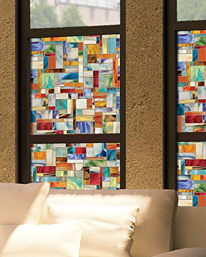 Artscape 01-0148 Montage 24 in. x 36 in. Window Film (Glass Window Decals Stained)