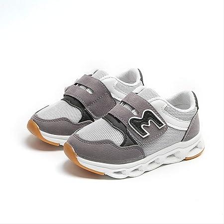 GUHUA Zapatos para Niños, Zapatillas Brillantes para Niños Y Niñas ...
