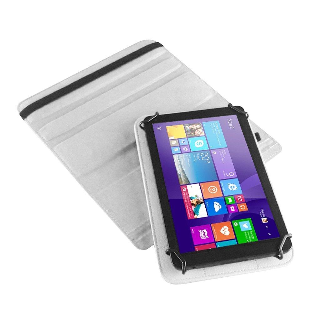 UC-Express Huawei MediaPad X2 Tasche H/ülle Cover Case Tablet Schutz Schutzh/ülle Drehbar Bag Farben:Schwarz