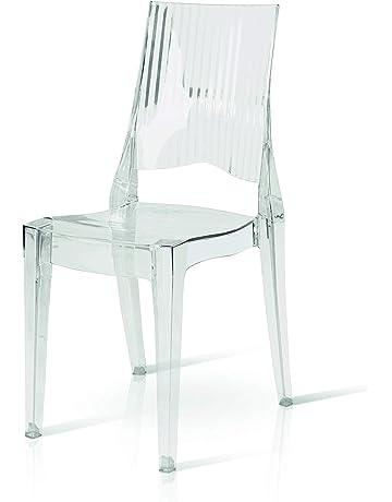 Fabbrica Sedie Plastica Impilabili.Sedie Impilabili Casa E Cucina Amazon It