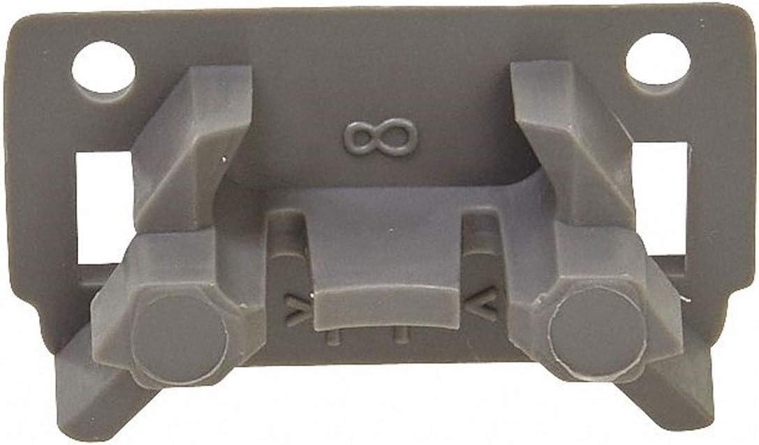 WPW10195622 Dishwasher Dishrack Stop Clip W10195622 for Whirlpool Genuine OEM