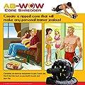 Ab Roller – Rueda para entrenamiento abdominal – AB WOW Aparato para hacer ejercicio de abdomen. Soporte de hasta 226 kg (500 lb). Incluye piezas extra.