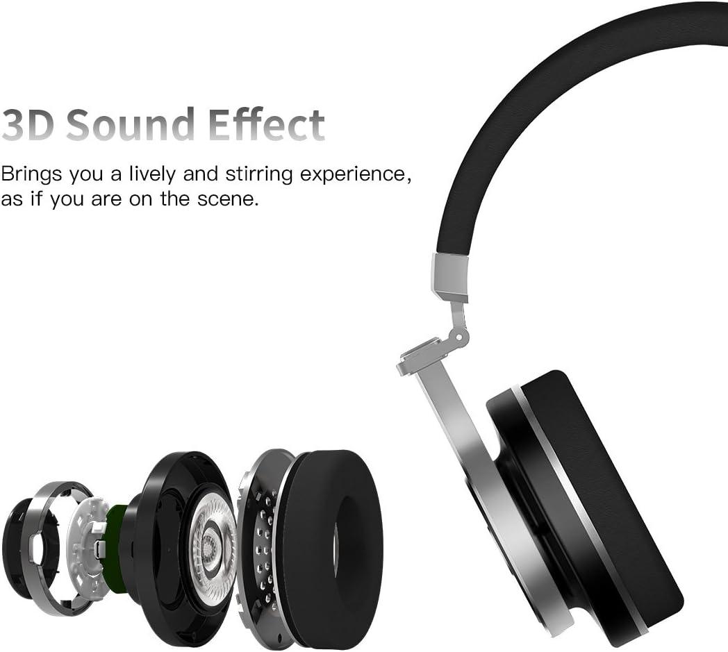 Bluedio T3 (Turbine 3rd) Extra Bass Wireless Bluetooth 4.1 ...