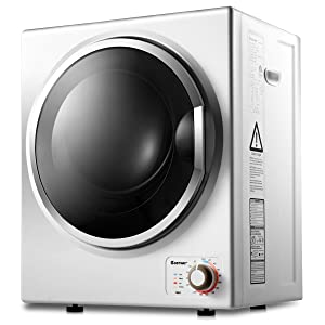 GOCOOL Tumble Dryer Electric Compact Stainless Steel Clothes Laundry Dryer