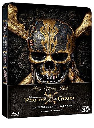 Piratas Del Caribe: La Venganza De Salazar - Edición Metálica ...