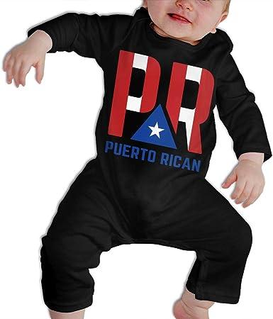 Puerto Rico Flag Newborn Baby Girl Boy Bodysuit Jumpsuit Short Sleeve Bodysuit Tops Clothes