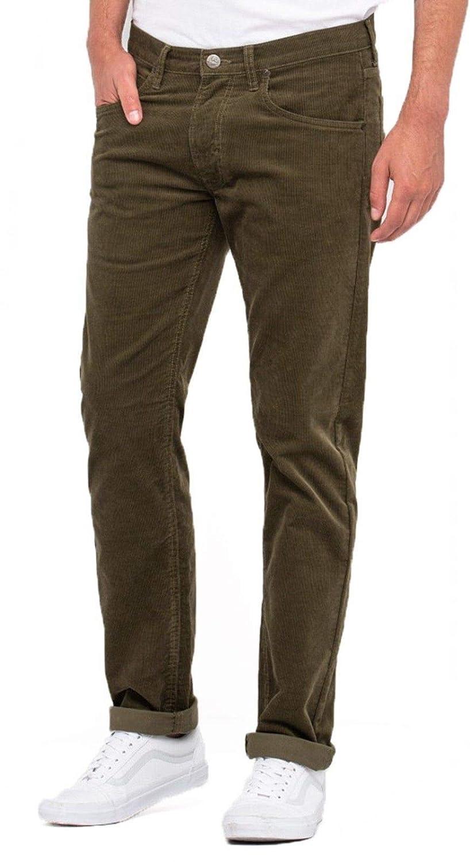 Black Mens Wrangler Arizona Regular Fit Stretch Zip Fly Cords Corduroy Jeans