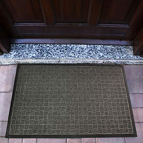 (Doortex Ribmat, Indoor Entrance Mat, Charcoal Grey, 36