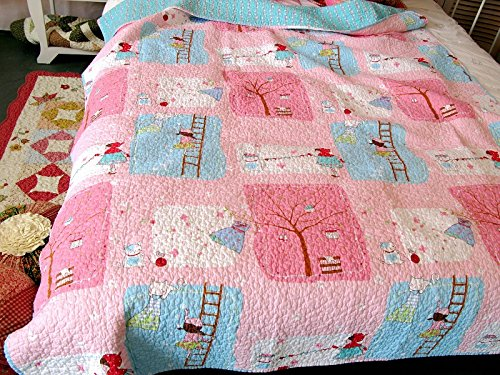 Happy Girl Baby Bedding Coverlet...