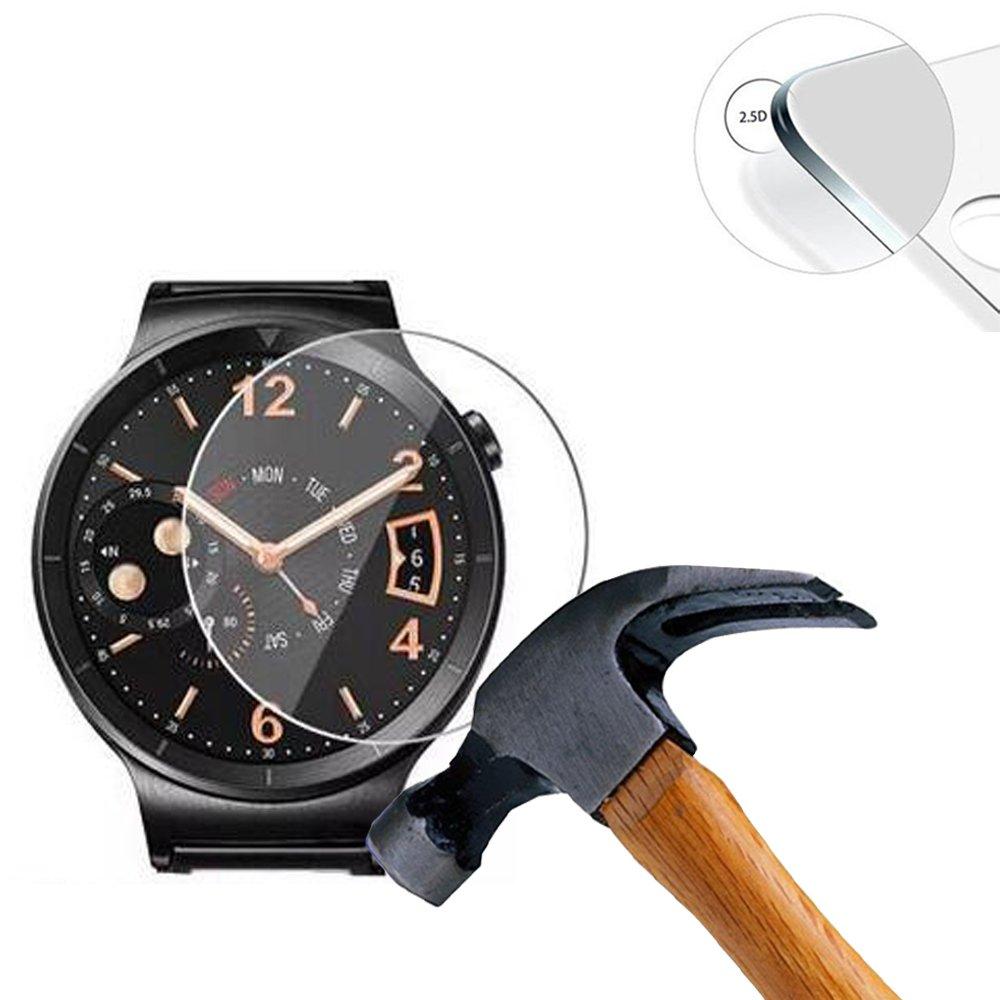 Lusee 3 Piezas Universal Protector de Pantalla para Smartwatch ...