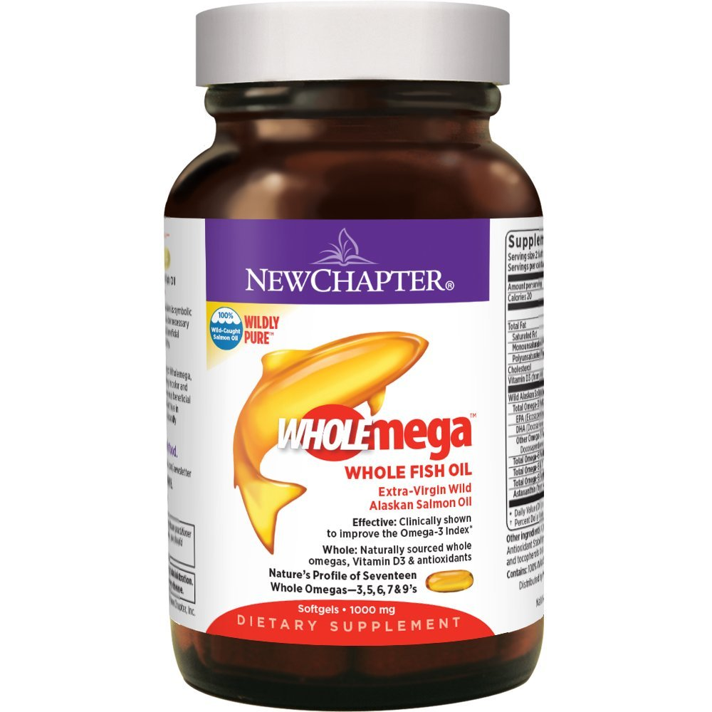 New chapter wholemega fish oil supplement 100 wild for New chapter fish oil