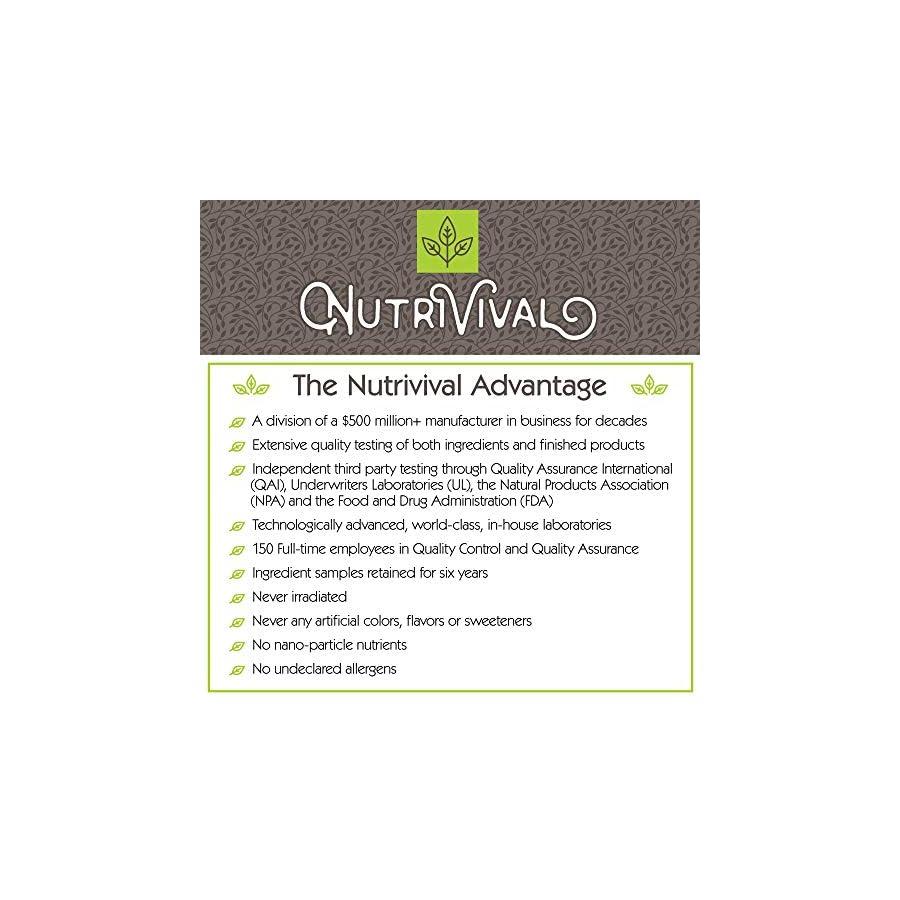 Nutrivival Acetyl l Carnitine 500mg,100 Veg Capsules